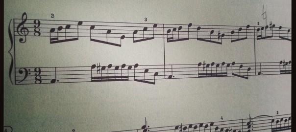 Bach, Wohltemperiertes Klavier, Praeludium XX