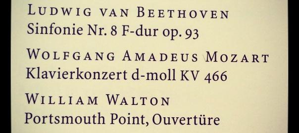 Programm 4. Sinfoniekonzert 1952 Kölner Rundfunk-Sinfonie-Orchester, Leitung und Solist: Georg Solti